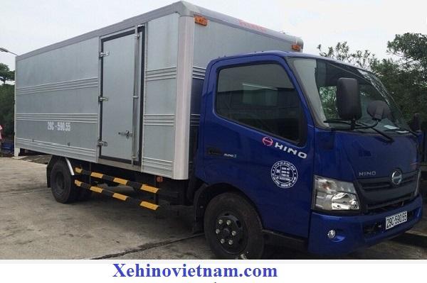 thùng kín xe tải hino 1.9 tấn