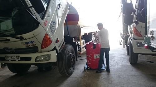 dịch vụ bảo dưỡng xe hino việt nam