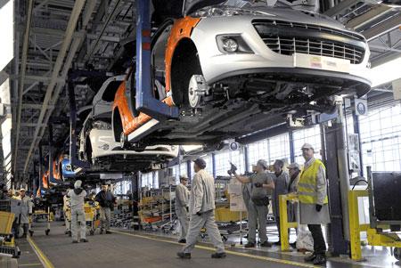 doanh nghiệp ô tô