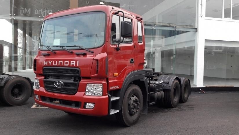 Đầu kéo hyundai Hd1000 sản phẩm nhập khẩu mới nhất hiện nay