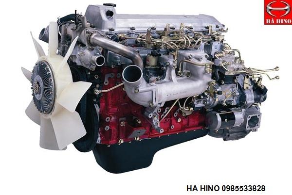 động cơ xe hino FL8JTSL thùng bạt 500 series