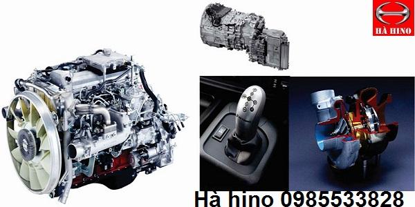 động cơ xe hino series 300