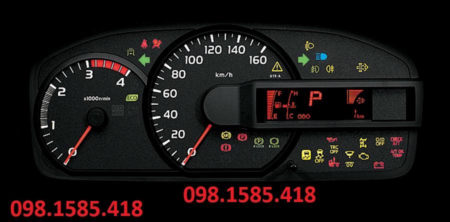 Đồng hồ điện tử xe tải hino 300series