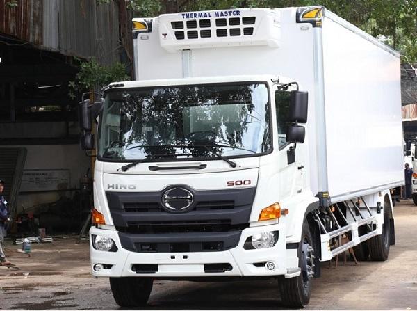 giá xe tải hino 15 tấn| model hino 3 chân FL8JT7A hoàn toàn mới
