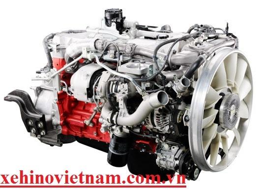 động cơ xe hino 500 model FG