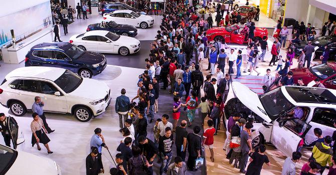 thuế nhập khẩu xe ô tô