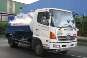 Giá xe tải Hino chở xăng trong năm 2018 – Biến động ra sao?