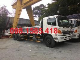 Xe Hino 15 tấn|xe tải hino series 500 FL8JTSL thùng lửng
