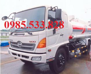 Xe bồn chở xăng dầu hino 11m3 giá rẻ