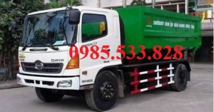 Xe chở rác hino 11 m3 - xe chuyên dùng hino FG8JJSB