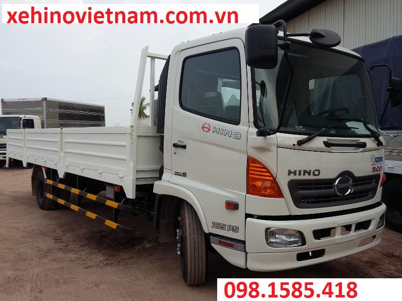 Xe Hino Chính Hãng FC9JJSW thùng lửng 6.2 tấn phân phối tại Viet Nam