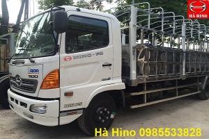 Xe Hino FC9JLSW mui bạt 5.75 tấn thùng dài 6.7 m- Hino Motor