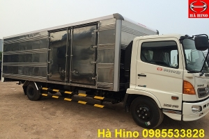 Xe hino FC9JLSW series 500 thùng kín 6.7m tải 5.6 tấn - Hino Chính Hãng