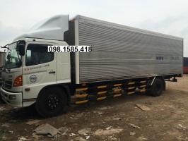 Xe Hino  FG8JPSL Thùng Kín dài 8620mm-tải trọng 7.7 tấn