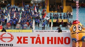 Xe Hino Việt Nam đồng hành cùng V-League 2016