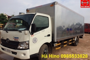 Xe Hino XZU720L|hino 300 series xzu720L tải 3.8 tấn thùng kín