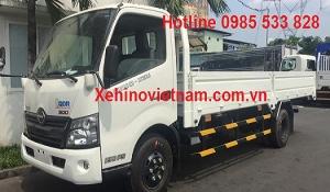 Xe Hino XZU720L|hino 300 series xzu720L tải 4,1 tấn thùng lửng