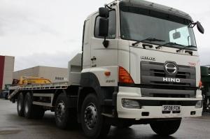Xe tải Hino 4 chân 19 tấn giá rẻ tại Hà Nội