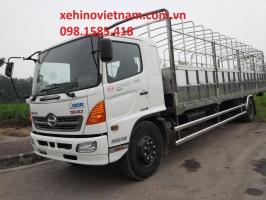 Xe Hino  500 series FG8JPSL Mui Bạt dài 8.6 m, tải 8 tấn