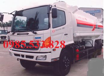 Xe bồn chở xăng dầu hino 18 m3 giá rẻ
