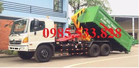 Xe chở rác hino 22 m3 giá rẻ chất lượng tốt