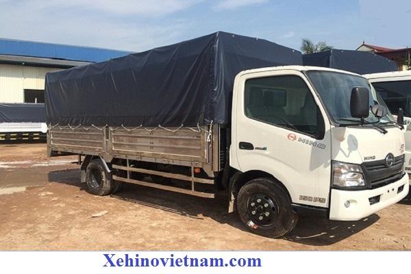 xe tải hino 1.9 tấn mui bạt