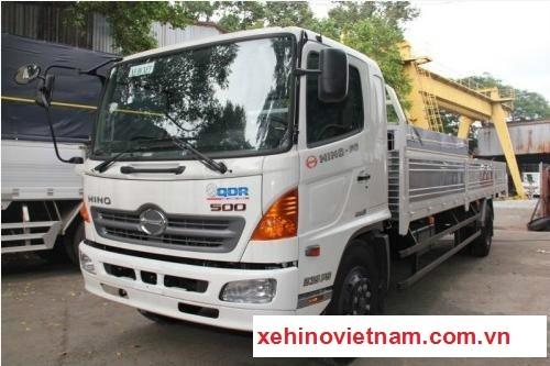Xe Hino 500series - FG8JPSB Thùng Lửng 8,5 tấn thùng dài 7.2m