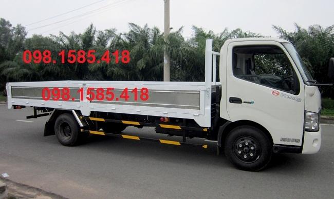 Xe Hino 300 series 4.950 tấn thùng lửng lắp ráp tại Viet Nam
