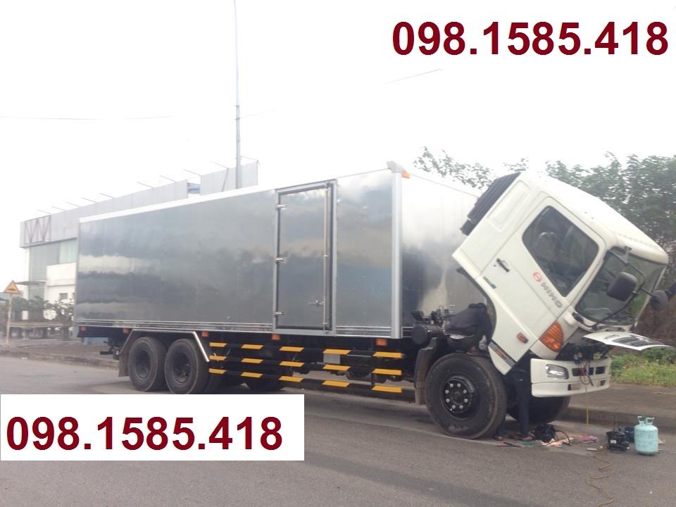 Xe Hino 15 tấn|xe tải hino series 500 FL8JTSL thùng kín