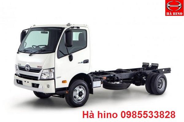 Sắt xi xe tải hino hạng nhẹ 300 series