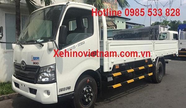 xe tải hino 3,5 tấn - phân phối xe tải hino 3,5 tấn việt nam