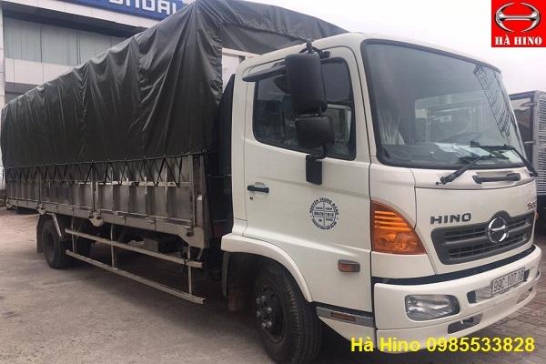 Xe tải hino 6 tấn mui bạt| đánh giá xe tải hino 6 tấn mui bạt tại việt nam