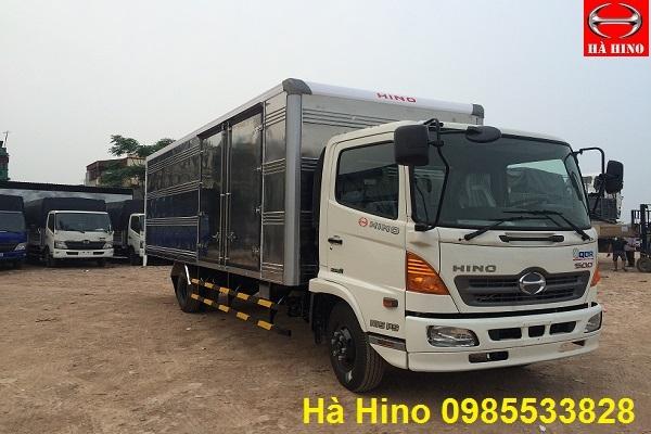 Xe Tai Hino FC9JJSW thùng kín 6 tấn phân phối chính hãng tại Viet Nam