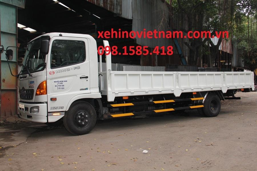 Xe HiNo FC9JLSW thùng lửng- tải 5.95 tấn - Phân Phối Chính Hãng