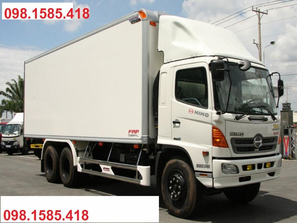 Xe Hino 15 tấn|xe hino 500 series FL8JTSA thùng kín
